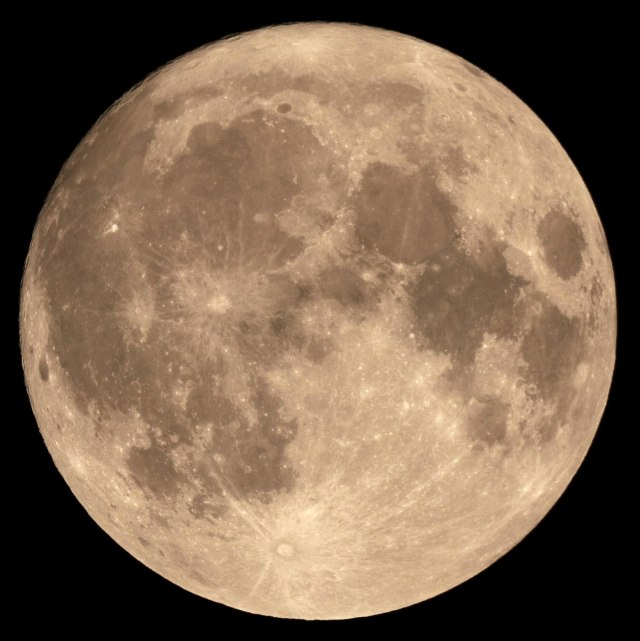 Moon supermoon